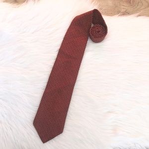 NAUTICA | Men's Red Pattern Tie